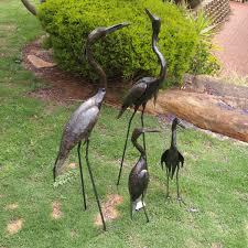 Metal Garden Art Brolga Metal Garden Art U2013 Garden Zoo