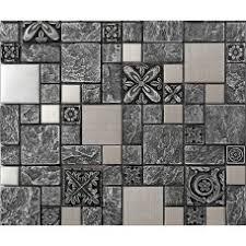 Brushed Stainless Steel Backsplash by Stainless Steel Tiles For Kitchen Backsplash And Bathroom