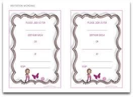 make your own birthday invitations free printable printable