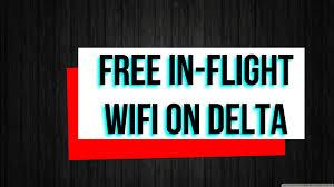 easy hack to get free in flight wifi delta youtube