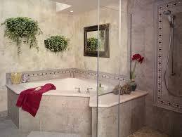 corner tub bathroom ideas corner shower bathroom designs