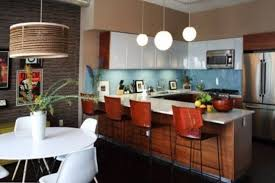 Midcentury Modern Kitchens - 39 stylish and atmospheric mid century modern kitchen designs