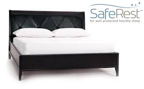 saferest bed bug proof low profile box spring encasement cover