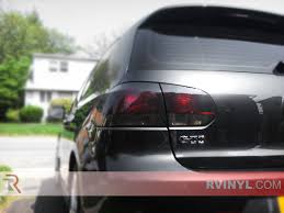 volkswagen rabbit custom rtint volkswagen rabbit 2006 2009 tail light tint film
