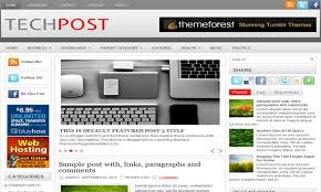 templates for blogger for software techpost blogger template blogger templates 2018