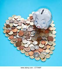 Heart Shaped Piggy Bank Loose Change Stock Photos U0026 Loose Change Stock Images Alamy