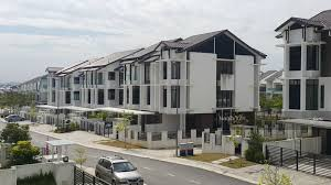3 storey house maple terrace 3 storey superlink house at denai alam jalan