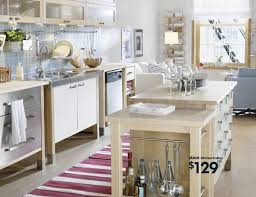 kitchen island ikea home design roosa extraordinary free standing metal kitchen cabinets rack shelves