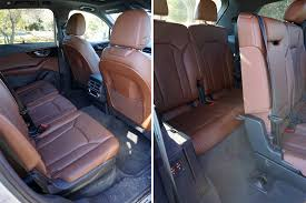 how many seater is audi q7 2017 audi q7 refined yet rugged suv ideal for family travel