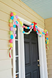 Easter Garlands Decorations by 17 Easiest Ever Easter Decorating Ideas