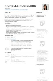 Australian Resume Templates Publicist Resume Samples Visualcv Resume Samples Database