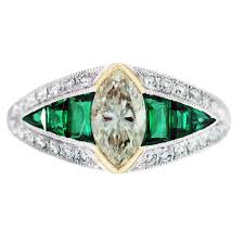 engagement ring eye candy art deco engagement rings