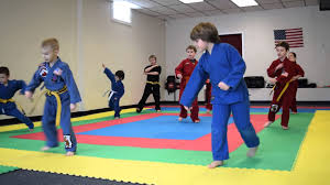 barnes martial arts forty fort pa kids belt test part 3
