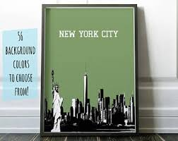 wedding gift nyc new york wedding etsy