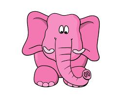 lembar kerja menulis huruf belalai gajah coloring page pinterest