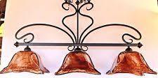 french country bronze amber art glass kitchen island french country bronze amber art glass kitchen island light fixture
