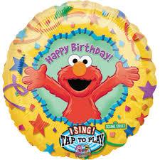 singing birthday balloons singing elmo happy birthday balloon bouquet singatune saskatoon canada