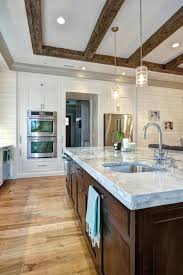 photos hgtv contemporary kitchen with reclaimed wood beams and