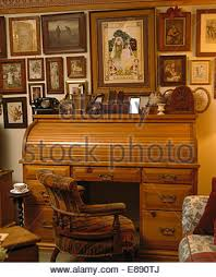 Old Roll Top Desk Roll Top Antique Desk In Parlour Inside Old Reconstructed 1850s