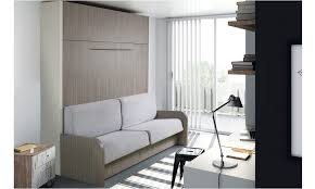 lit escamotable canape armoire lit escamotable avec canapé et matelas vienne