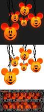 Mickey Halloween Decorations Halloween Pumpkin Lights Target