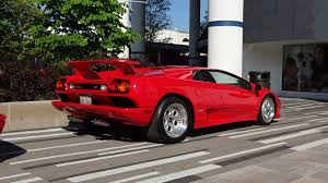 car lamborghini red 1994 lamborghini diablo vt coupe in red paint u0026 engine start up on