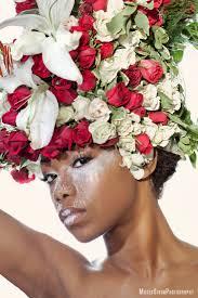 floral headdress floral headdress