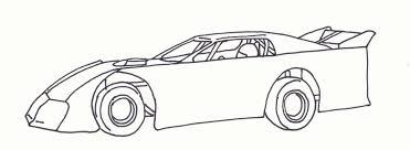race car clipart late model pencil color race car clipart