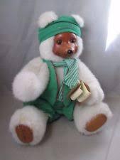 Wooden Faced Teddy Bears Robert Raikes Bears Santa Ebay