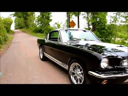 Black 1966 Mustang 1965 Ford Mustang Fastback Gt Car Autos Gallery