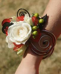 prom corsage white prom corsage prom flowers in bowerston oh of