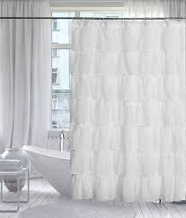 White Shower Curtain White Shower Curtain Amazon Com