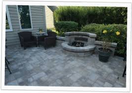 Unilock Fire Pit by Outdoor Fireplaces U0026 Fire Pits Naperville Claridon Hills