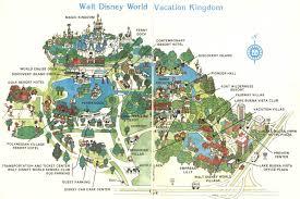 map 1971 disney world vs present day disney blogs orlando