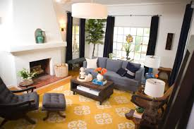 Big Living Room Rugs Big Yellow Area Rug Living Room With Dark Grey Sofas And A