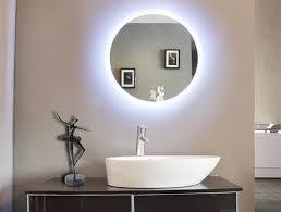 led lit bathroom mirrors led illuminated bathroom mirror backlit mirrors for bathrooms inside