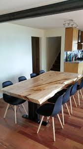 dining room serving tables natural live edge wood dining tables serving the greater seattle