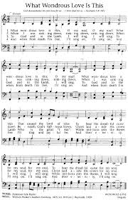 hymns of thanksgiving and praise songs of praises what wondrous love is this