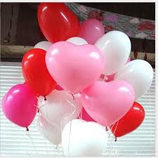 heart balloons 12 inch multicolor heart balloons wedding heart balloons