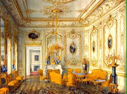 Drawing Rooms Yellow Drawing Room Of The Stroganov Palace In The Time Of The
