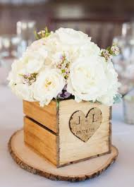 Vintage Centerpieces For Weddings by Rustic Chic Wedding Centerpiece Idea Rustic Chic Wedding