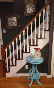 How To Paint A Banister Black How To Refinish A Staircase For Under 50 Frugalwoods