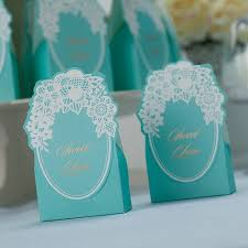 Blue Favor Boxes by Blue Lace Flower Wedding Favor Box Ewfb077 As Low As 0 93