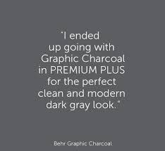 evening hush behr love this color of charcoal gray evening