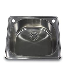 Overmount Kitchen Sinks Stainless Steel by Nantucket Sinks Ns2522 D 25 Inch 18 Gauge D Bowl Single Bowl Self