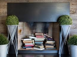 How To Decorate A Non Working Fireplace by Creative Ways To Decorate Your Fireplace In The Off Season