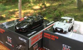 the new 2017 nissan gt r nismo and the july release from tomica