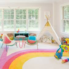 colorful kids u0027 playroom ideas popsugar moms