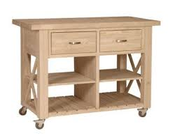 unfinished furniture kitchen island unfinished x side kitchen island wc 12 free shipping