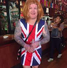 Ginger Spice Halloween Costume Ricky Hatton Dresses Ginger Spice Geri Halliwell